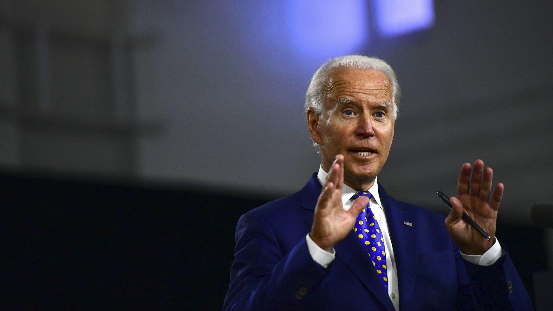 Joe Biden will no longer travel to Milwaukee for Democratic convention - Axios 5