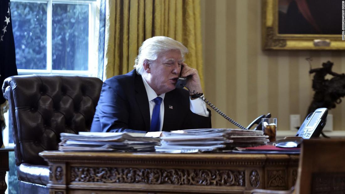 From pandering to Putin to abusing allies and ignoring his own advisers, Trump's phone calls alarm US officials - CNNPolitics 2