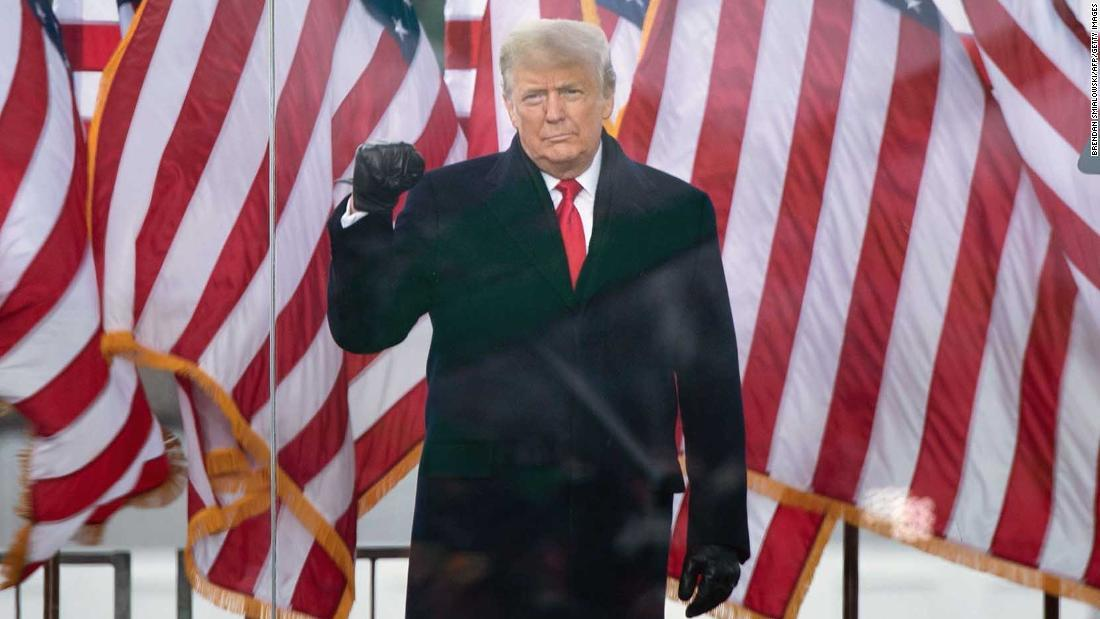 US Capitol riot: House Democrat sues Donald Trump under post-Civil War era law for conspiracy to incite insurrection - CNNPolitics 1