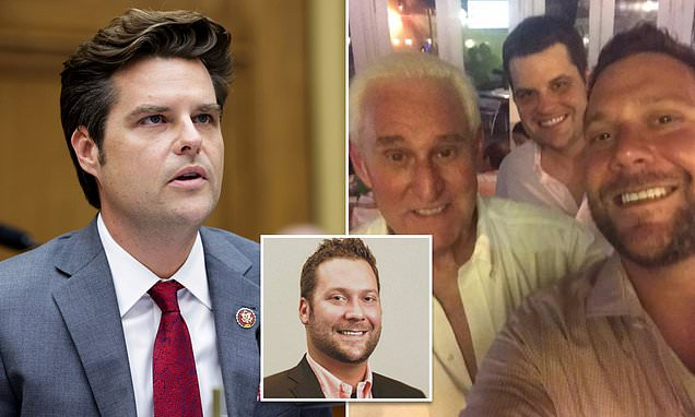 Matt Gaetz's arrest is imminent as sources say Joel Greenberg has been 'singing to the feds'   Daily Mail Online 1
