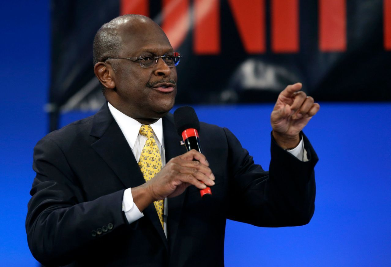 Herman Cain Remains Hospitalized 1 Month After COVID-19 Diagnosis 2