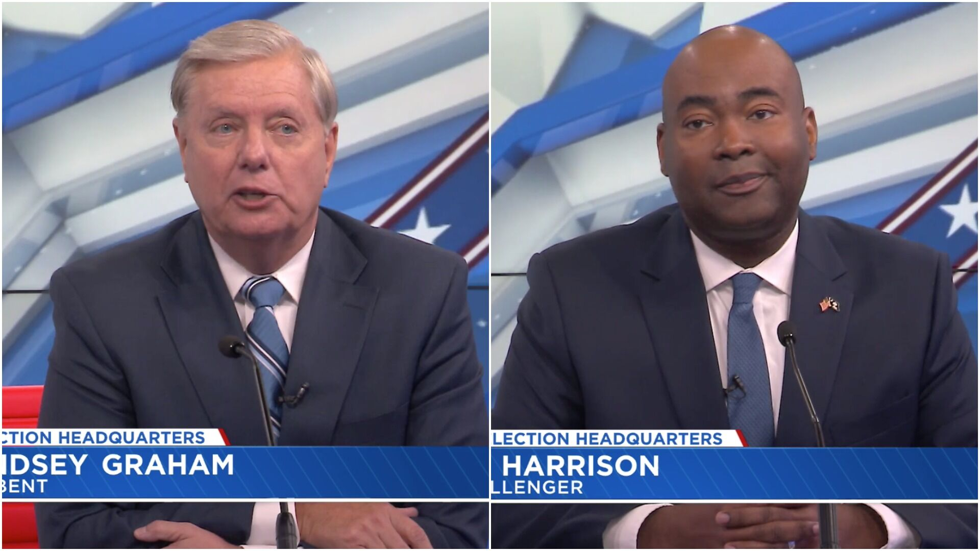 SC Senate debate replaced by separate interviews after Harrison insisted on COVID tests   Palmetto Politics   postandcourier.com 2