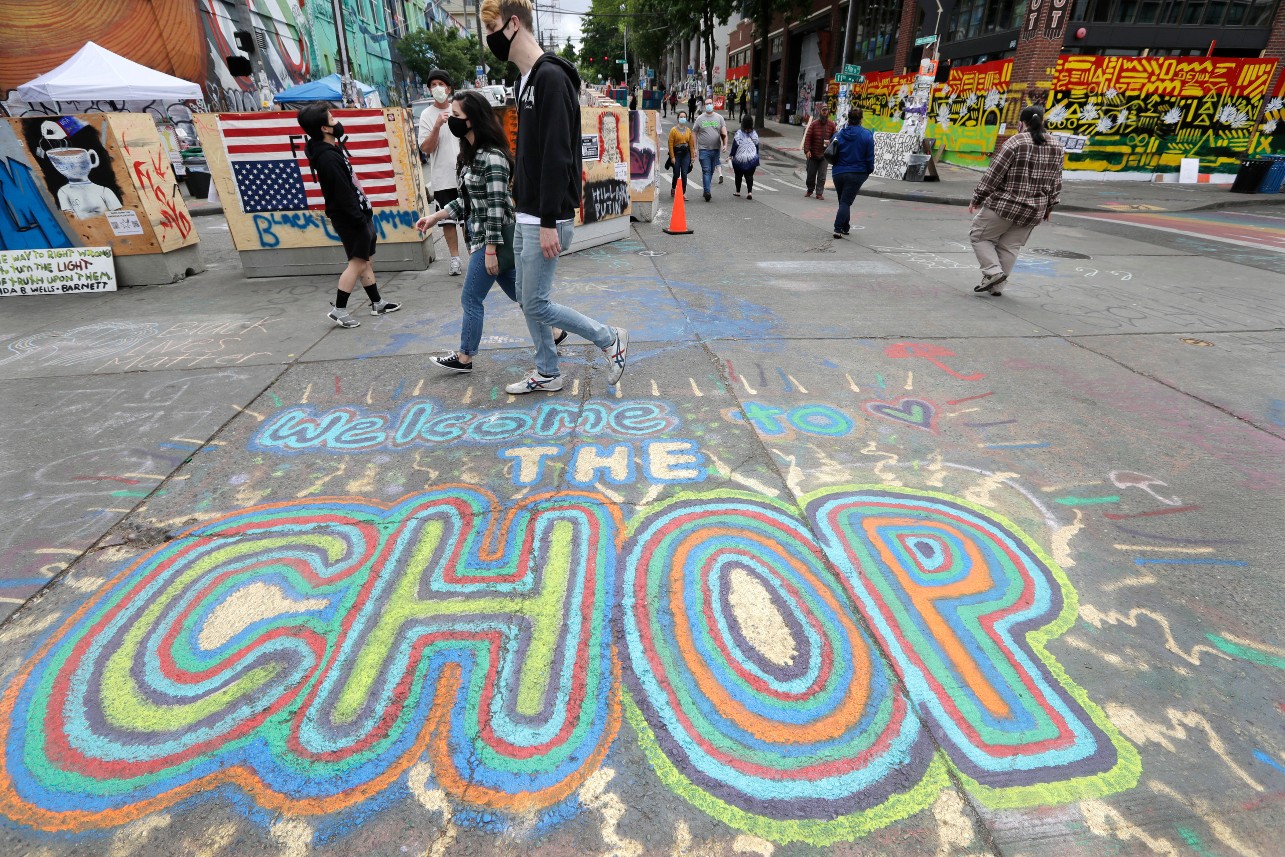 Seattle will move to dismantle protest zone, mayor says | KOIN.com 5
