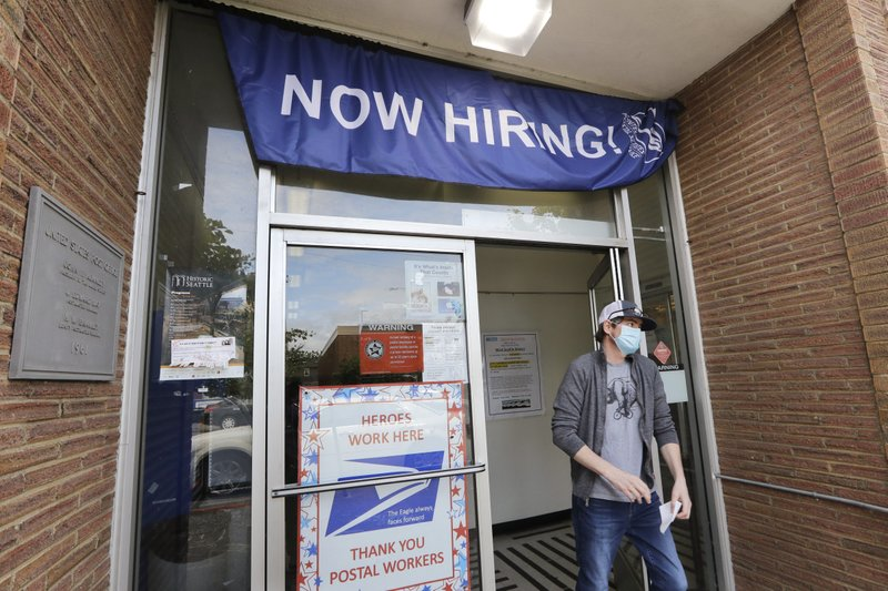 US unemployment drops unexpectedly to a still-high 13.3% 5