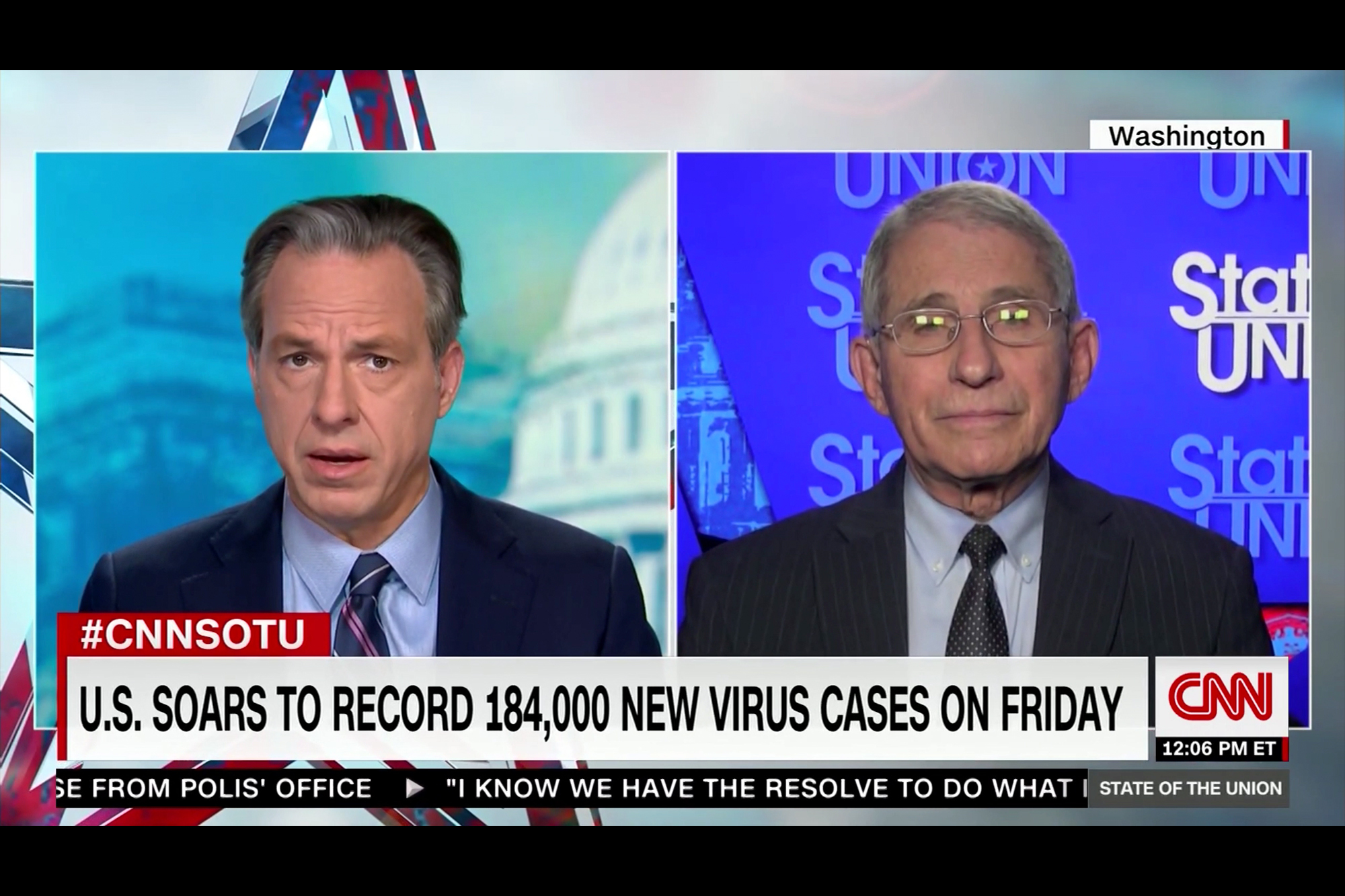 Fauci Warns U.S. Virus Death Toll Could Surpass 400,000 by March - Rolling Stone 3