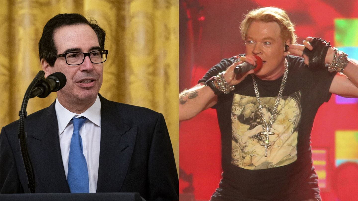 Axl Rose, Steven Mnuchin and the pandemic Twitter feud no one saw coming 2