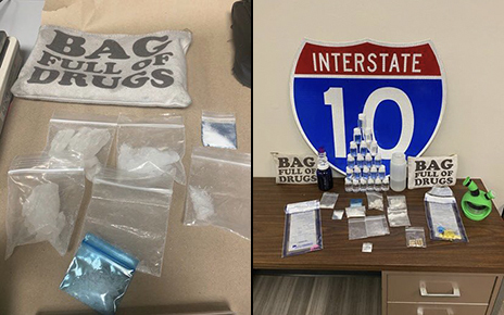"""Police Find Illegal Narcotics Stash Inside Pouch Labeled """"Bag Full Of Drugs"""" 