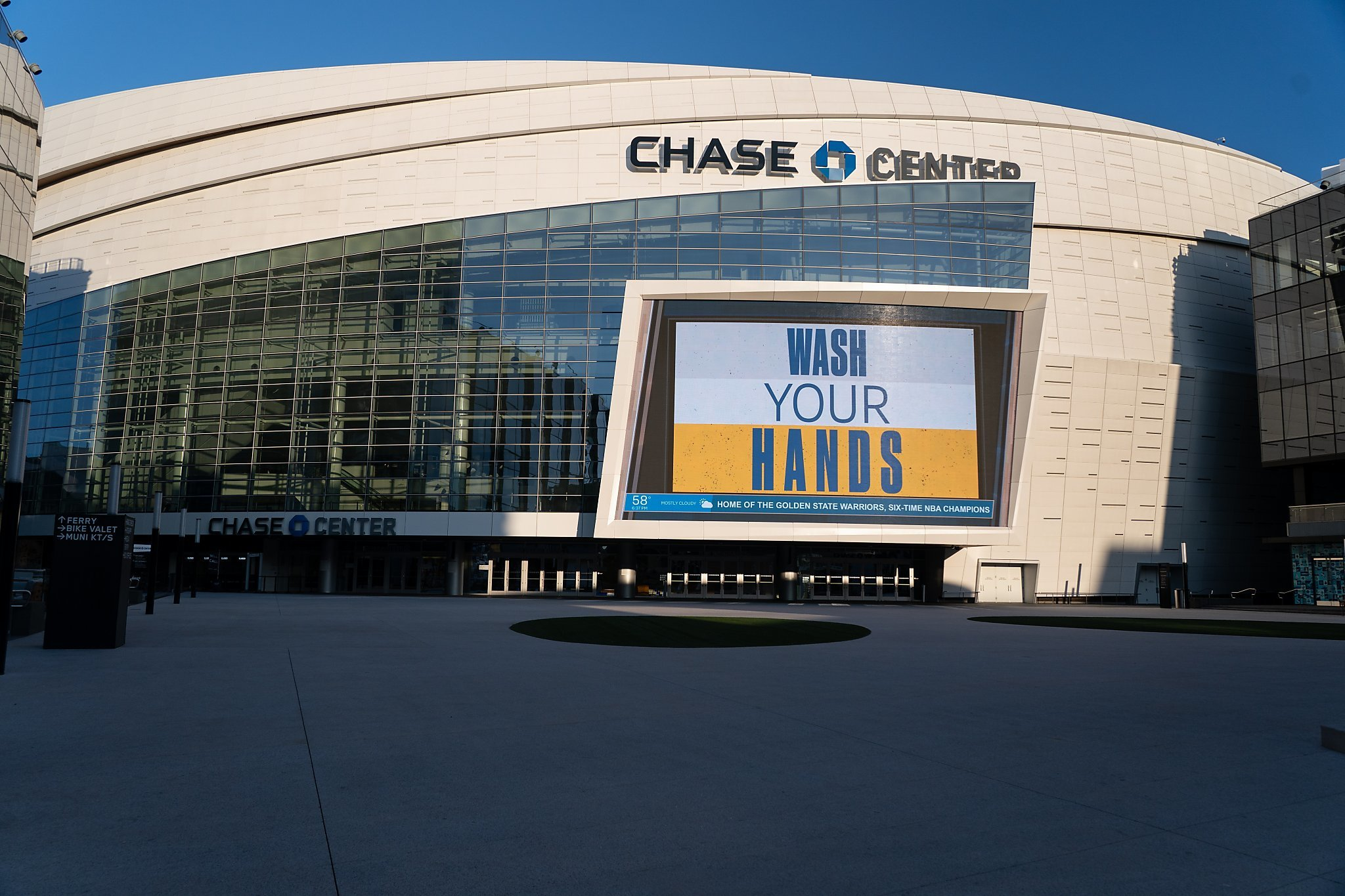 Warriors to convert Chase Center into site for election; A's pursue similar effort - SFChronicle.com 1